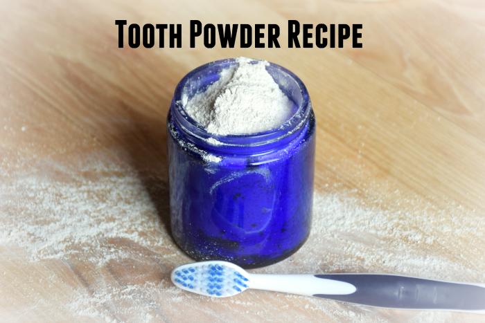 Tooth Powder Recipe ~ Rethinking How You Brush