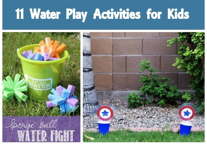 11 Water Play Ideas for Summer