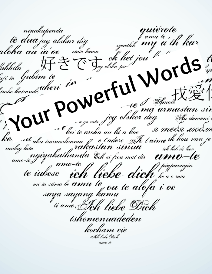 How do you use your powerful words? Did you know your mouth carries the most powerful weapon in the world?