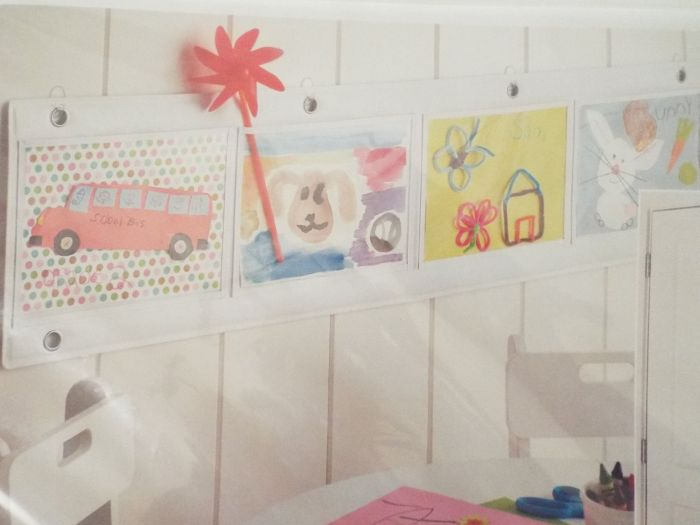 How to sort and display your child's artwork while staying sane.