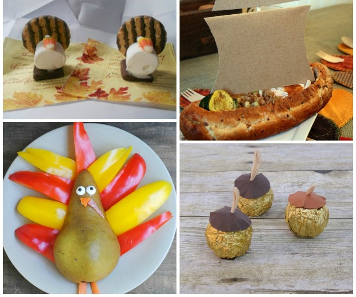 19 Edible Turkey Crafts Thanksgiving Crafts: Edible Thanksgiving Table Decor