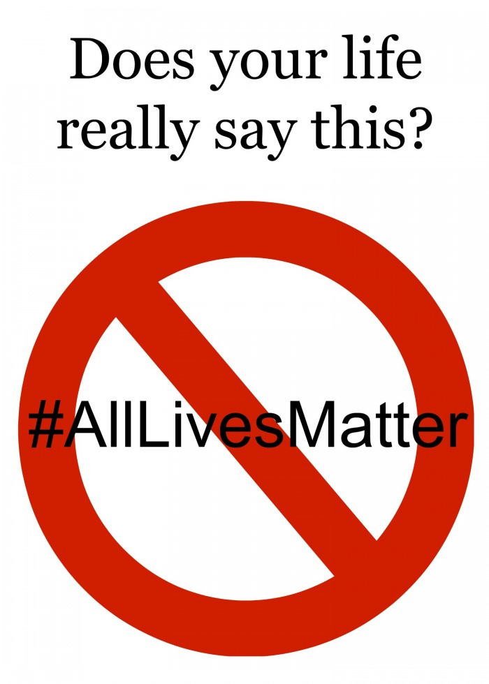 We like to say all lives matter. But does our life really show that we believe all lives to matter?