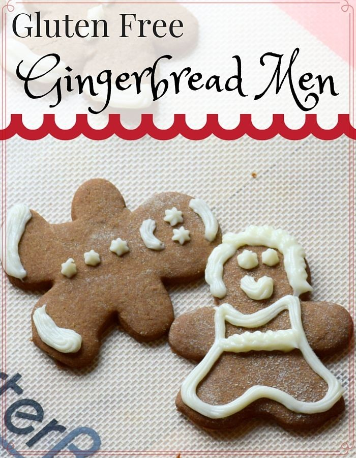 delicious and easy to make recipe for gluten free gingerbread men ...