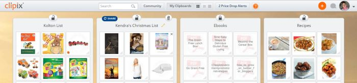 how to make the easiest online Christmas list