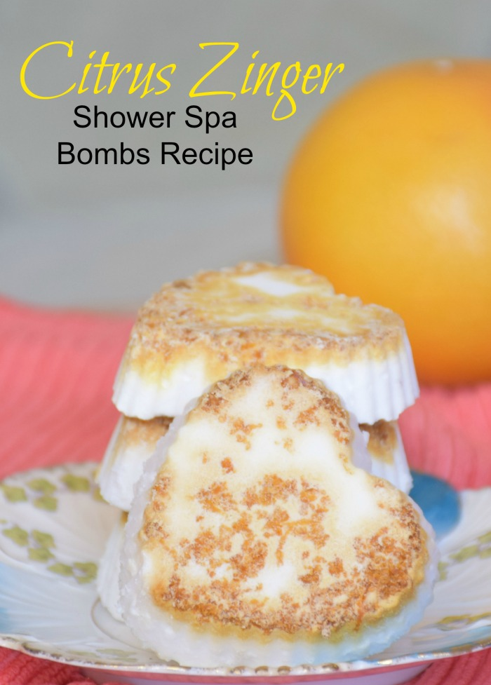 How to make shower spa bombs. Turn your showers into a mini spa day!