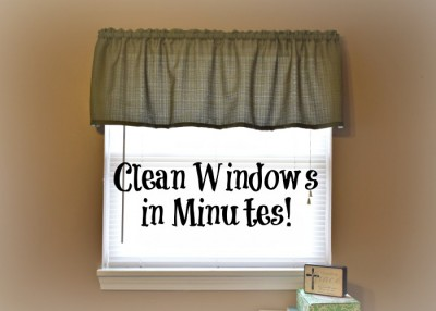 How to get shockingly clean blinds and windows in just minutes using only water!