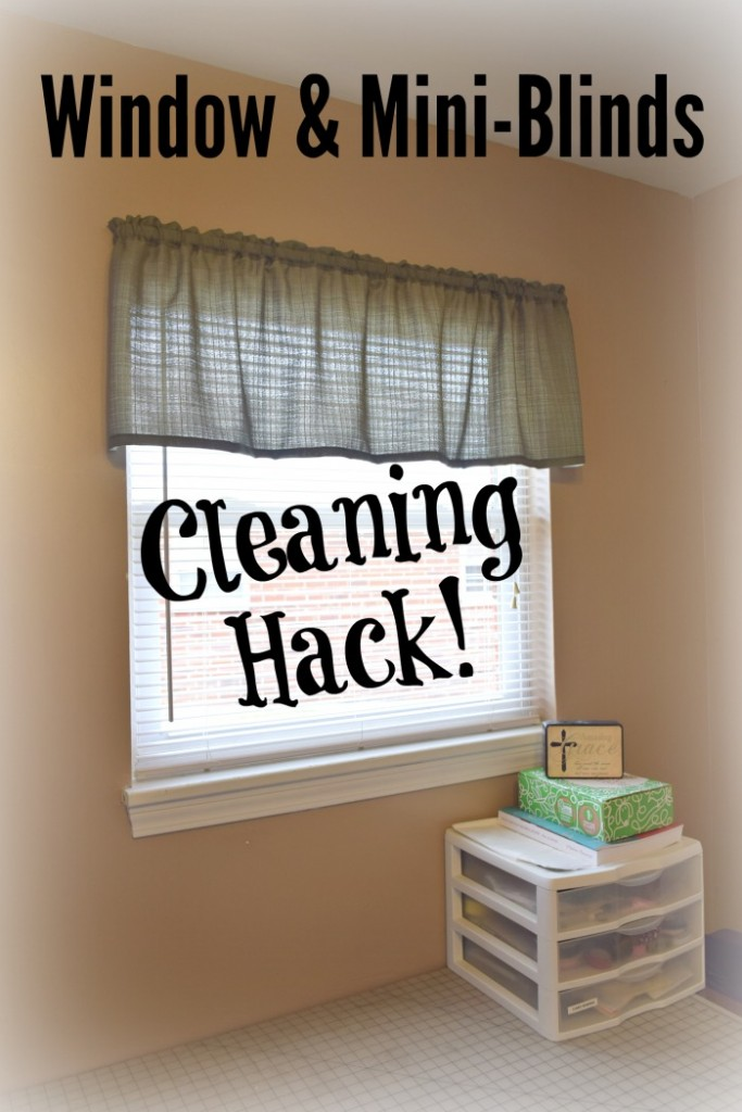 Awesome hack for spring cleaning windows and blinds in just minutes!