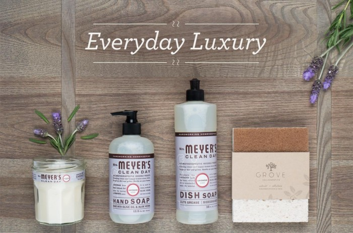 Grove collaborative flash deals for Mrs Meyer's clean day