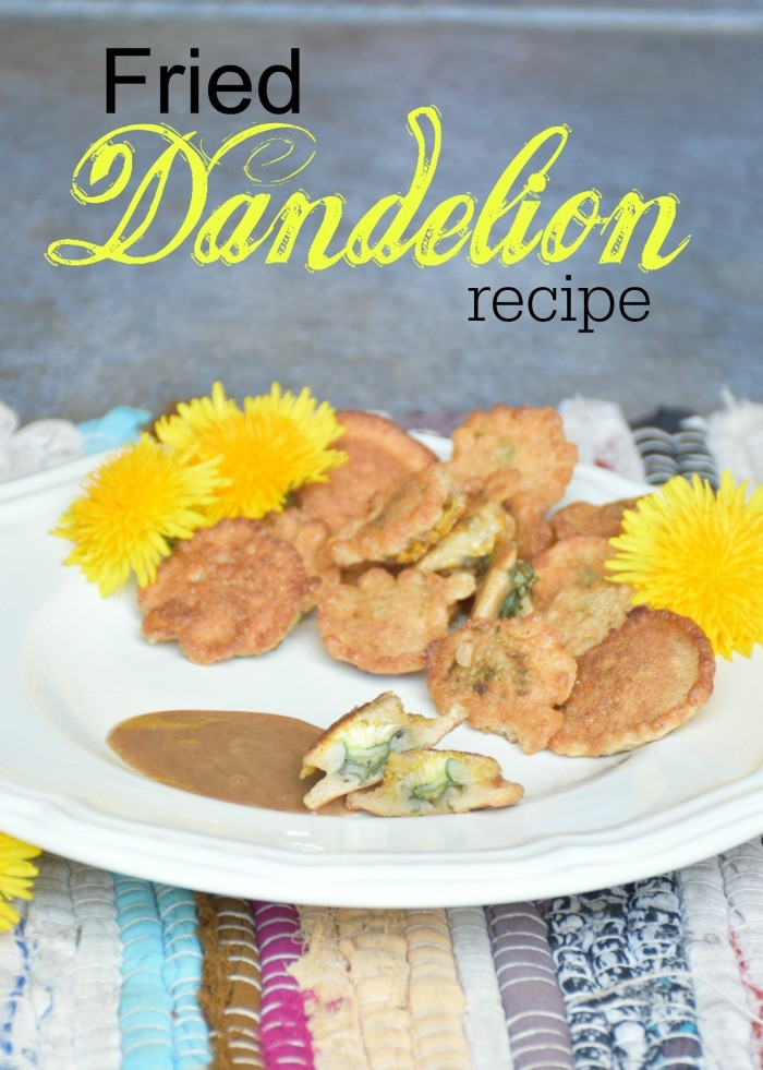 How to make fried dandelions. Easy recipe for fried dandelions