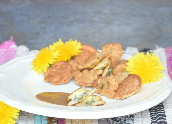 Recipe for Fried Dandelions