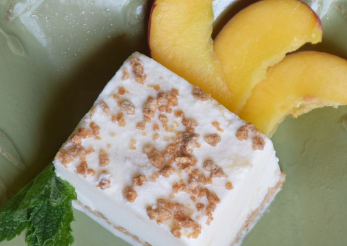 Quick and easy, delicious peaches and cream ice cream bars. The perfect treat for summer!!!