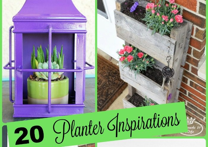 20 Unique Summer Planters