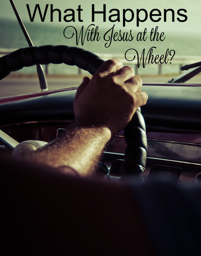 What happens when you start putting Jesus at the Wheel in your life? Well, I will tell you what won't happen!