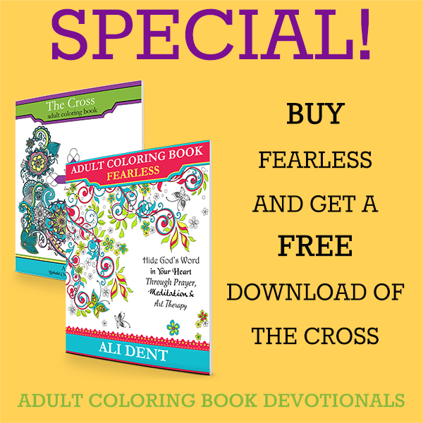 """Enter to Win a Copy of """"Fearless"""" Christian Coloring Book"""