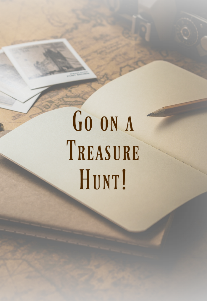 Go on a treasure hunt and see what priceless gems there are to find!