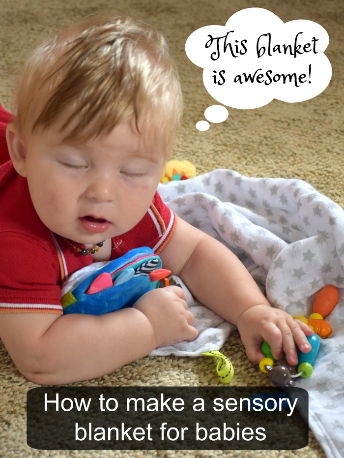 How to make a sensory blanket for babies