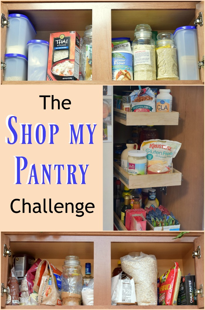 The shop my pantry challenge. 3 weeks of using only the groceries and food we have on hand. Let's get this grocery budget back on track!