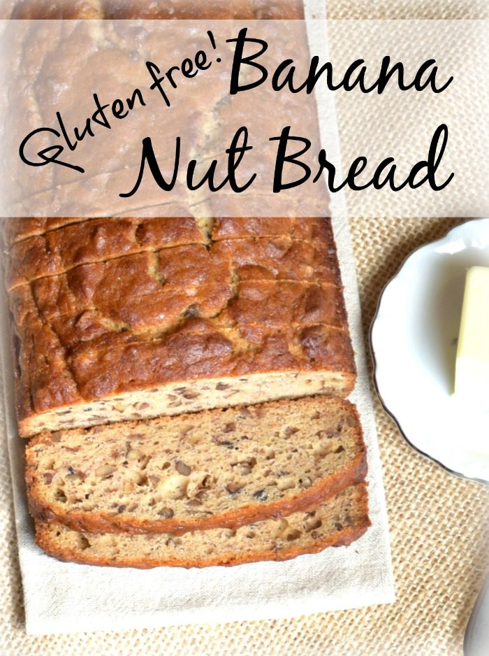 delicious Gluten free banana nut bread recipe..