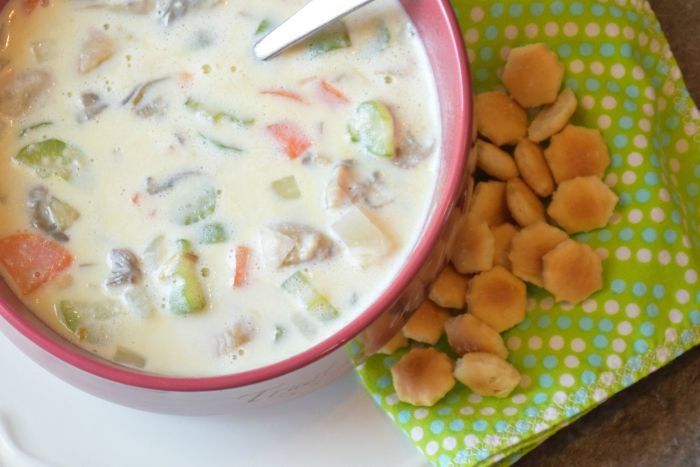 Creamy Oyster Soup Recipe