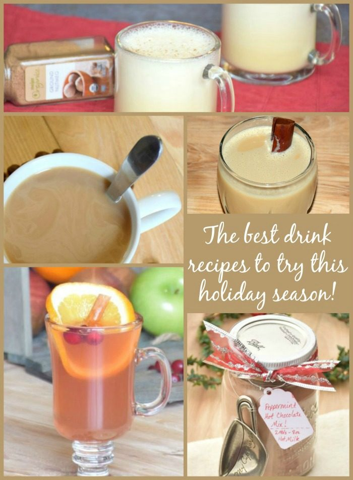 The best drink recipes to try this holiday season.