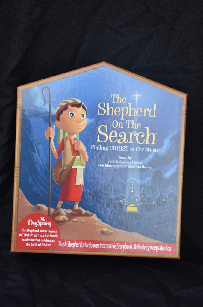 Simple lessons for toddlers at Christmas time. The shepherd on the search is a great way to teach children about seeking Christ. #JoinTheSearch #ad
