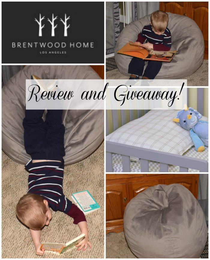 Nontoxic pillow and lounger. A brentwood homes review and giveaway!