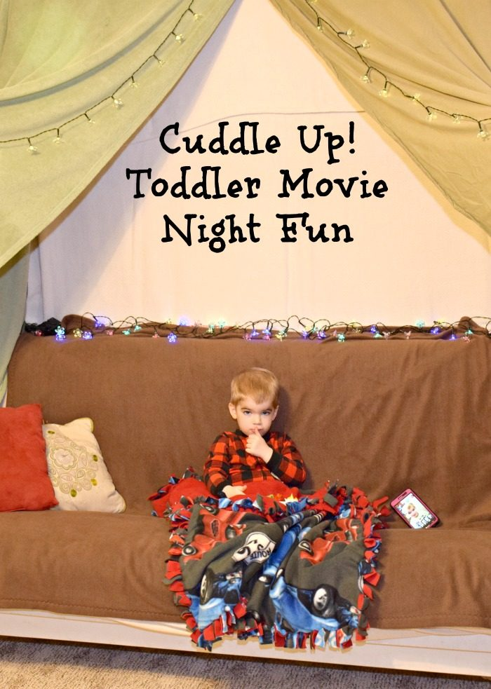 Create A Cuddle Up Movie Night With Your Toddler Make Blanket Fort No