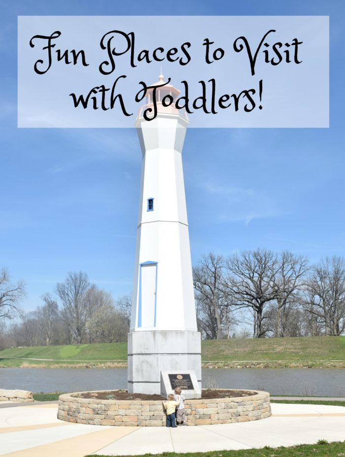 Treasure island park in Troy Ohio - fun with toddlers - HER Realty