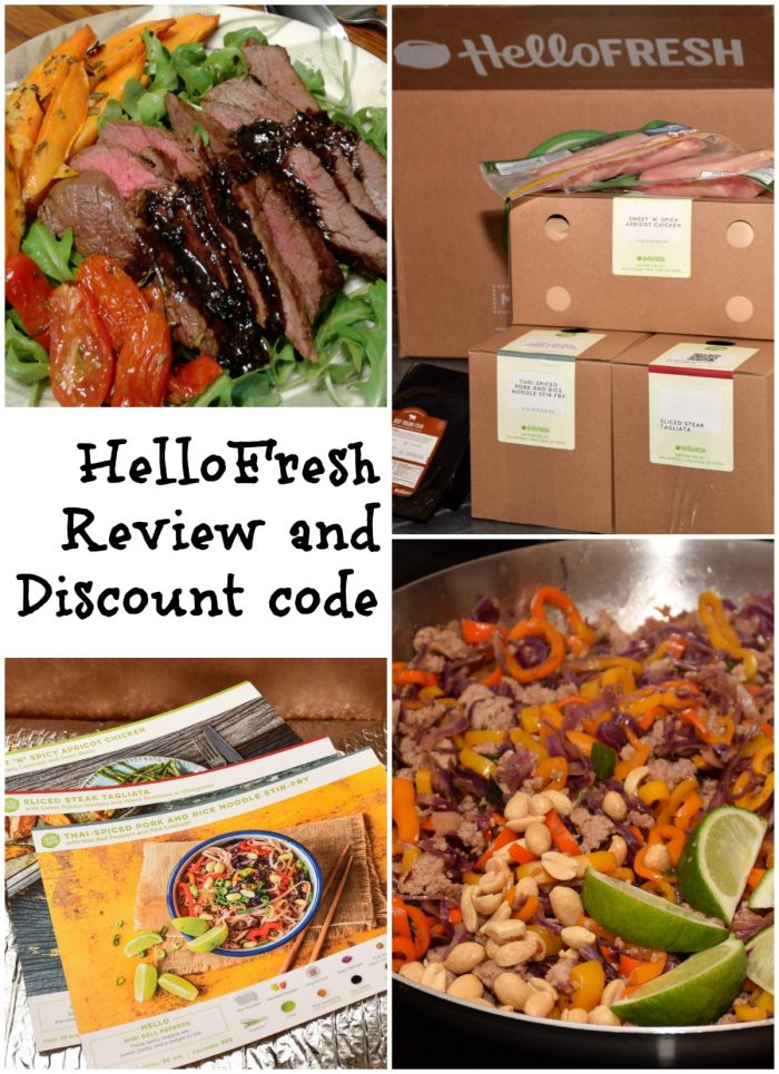 HelloFresh review and a promo code discount for hellofresh