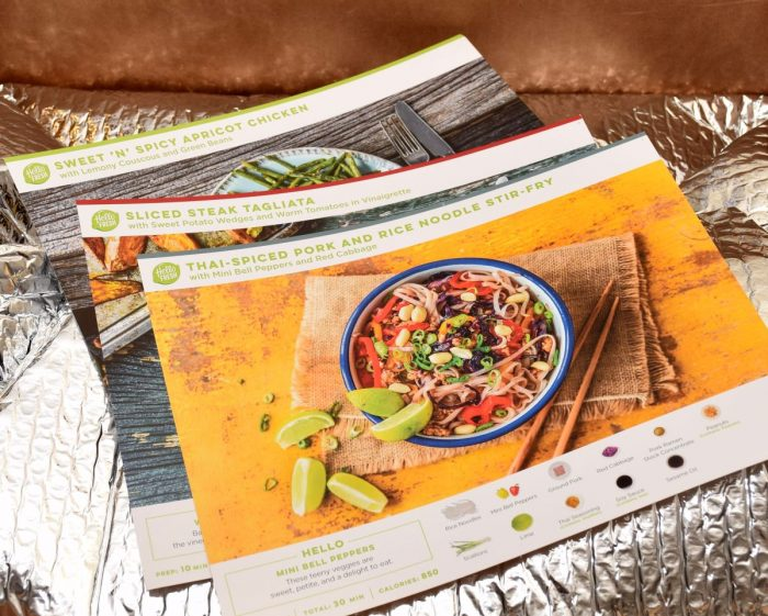 review for hellofresh and a promo code for hellofresh