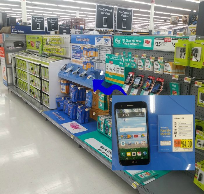 No contract phones at Walmart #SummerIsForSavings #CollectiveBias #WFM1 #ad