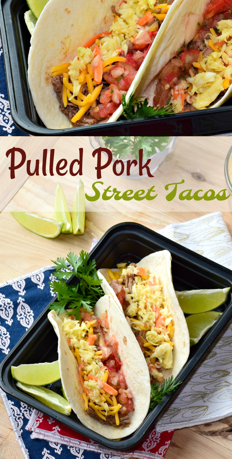 These pulled pork street tacos are something like a party in your mouth! The flavors and textures are nothing short of amazing!