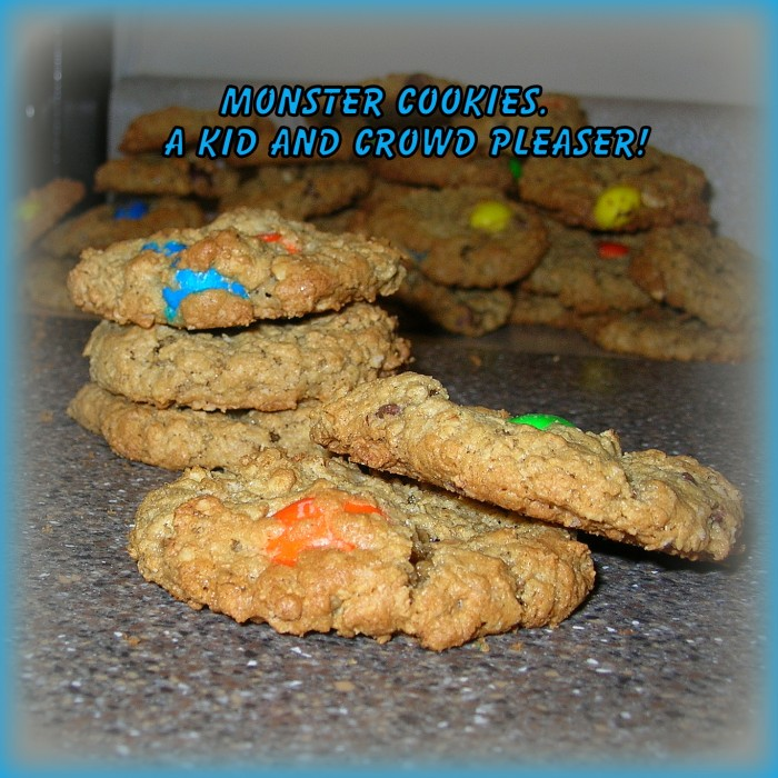 Monster Cookies Recipe +Printable.