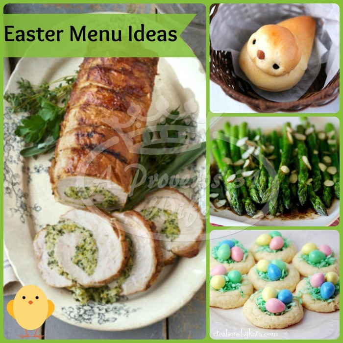 Easter Recipe Roundup!