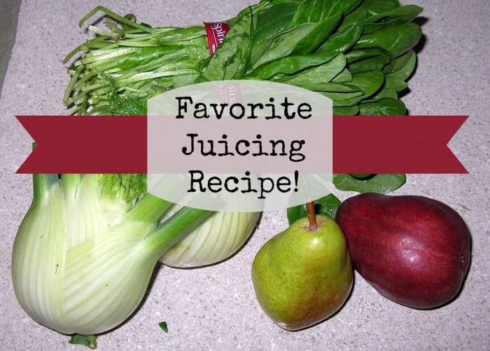 favorite juicing recipe