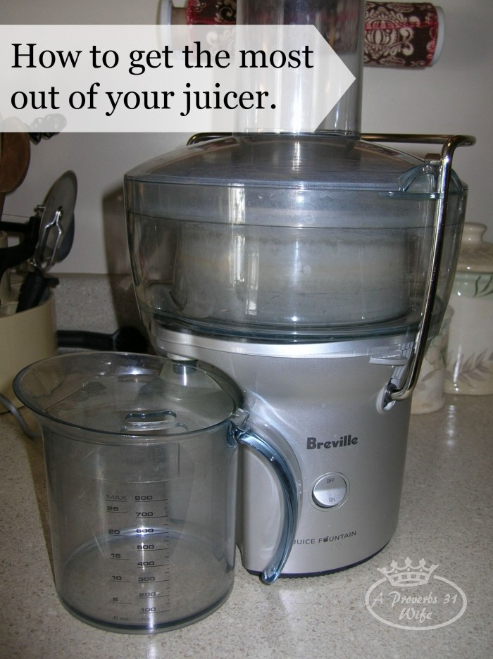 Get the Most out of Your Juicer