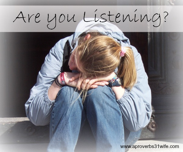 Are you listening with your heart to those around you?
