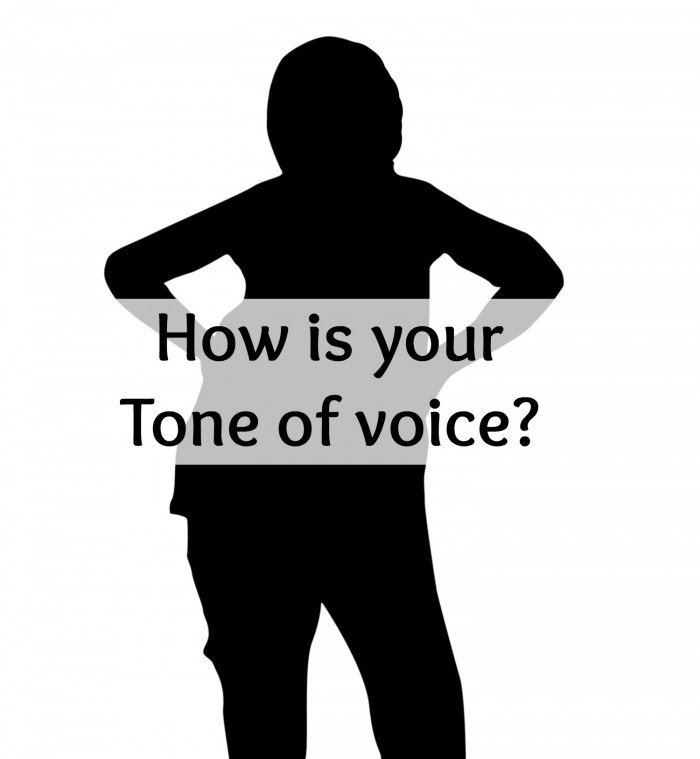 How's your tone of voice when speaking to your man?