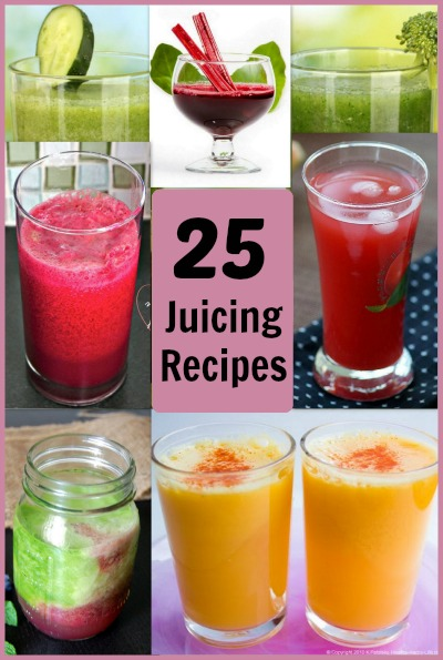 25 Juicing Recipes for everyday health. #juicing #juicingrecipes #juicerecipes
