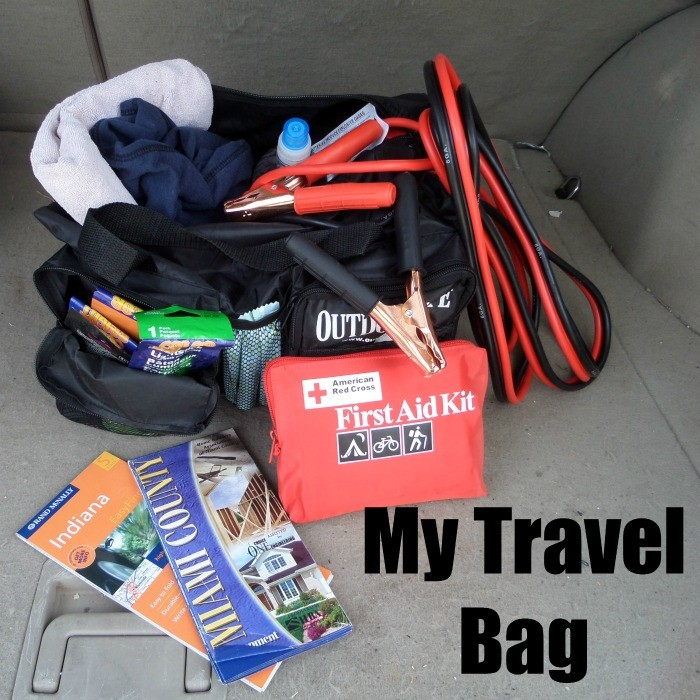 Emergency kit for car