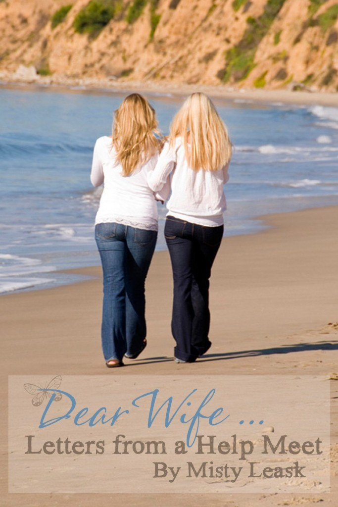 The Dear Wife letters. Letter of hope and encouragement for any who feel sad and alone.