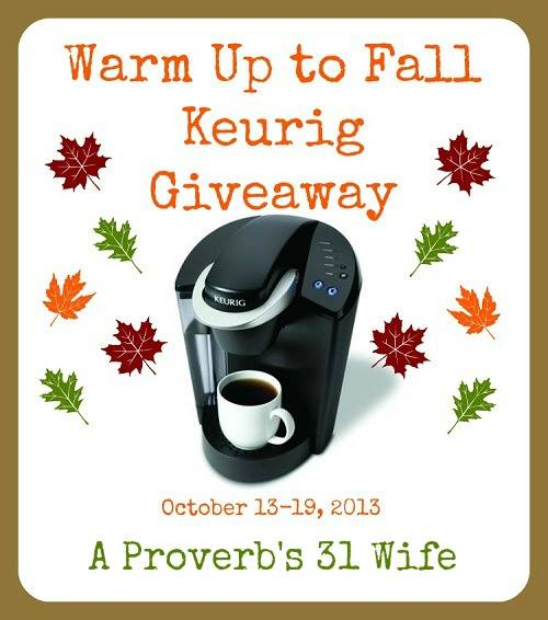 Warm Your Insides with a Keurig Giveaway!