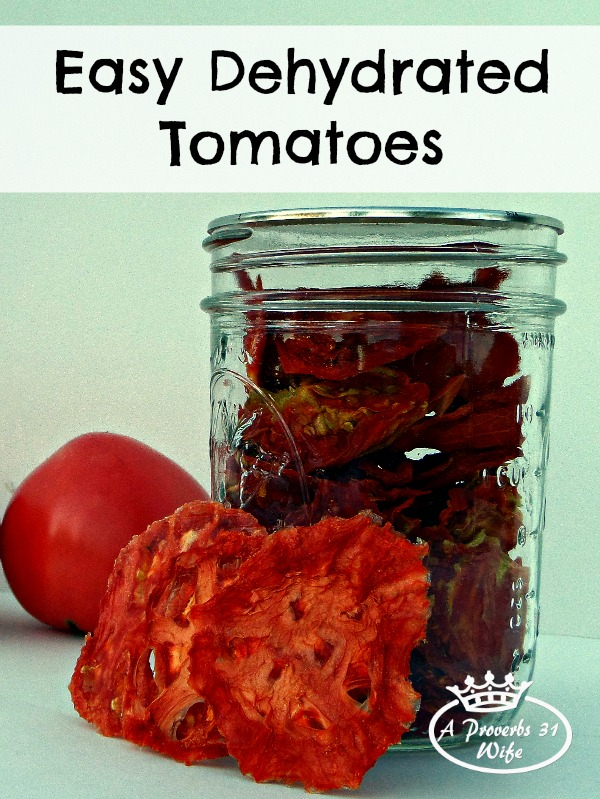 How to easily make dehydrated tomatoes