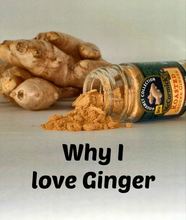 Why I love ginger. Can you believe how many things ginger is good for!?!