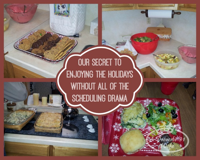 Our no more drama secret when it comes to holiday scheduling