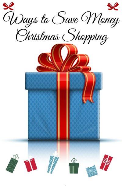 Several different ways to save money Christmas Shopping.