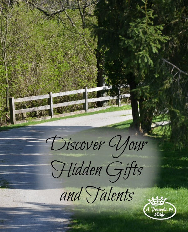 How to discover your hidden gifts and talents.