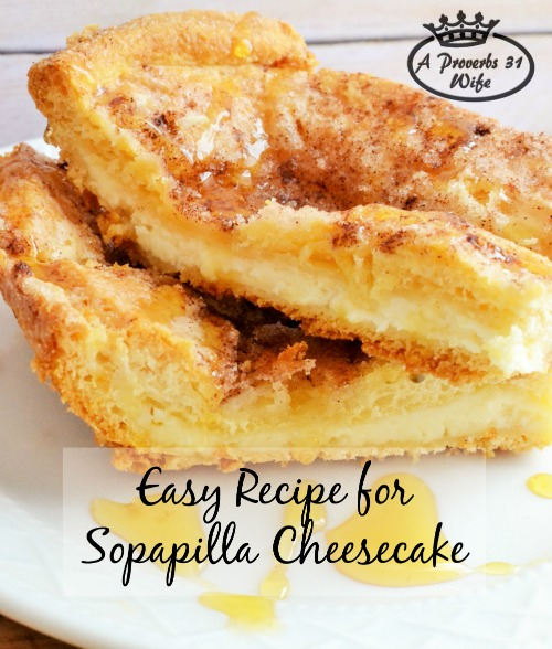 Recipe for Sopapilla Cheesecake