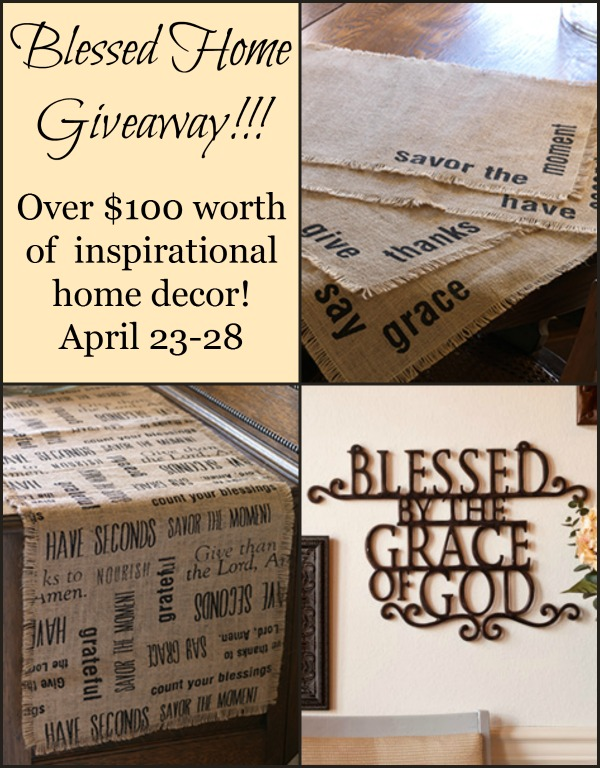 Blessed at Home Giveaway!
