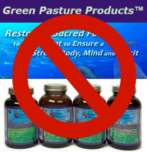 Say no to fermented cod liver oil